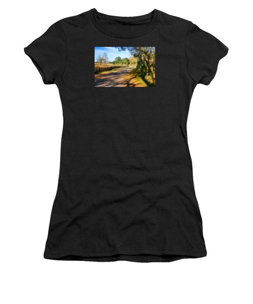 Country Road Women's T-Shirt (Athletic Fit)