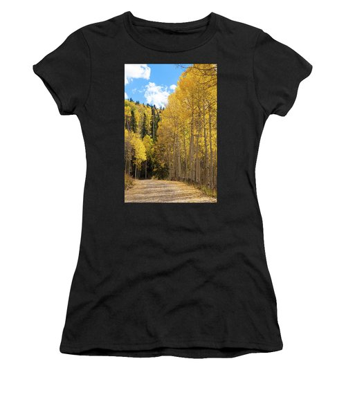 Country Roads Women's T-Shirt (Athletic Fit)