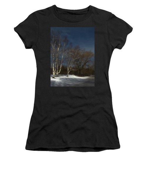 Country Roadside Birch Women's T-Shirt
