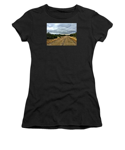 County Road Women's T-Shirt (Athletic Fit)