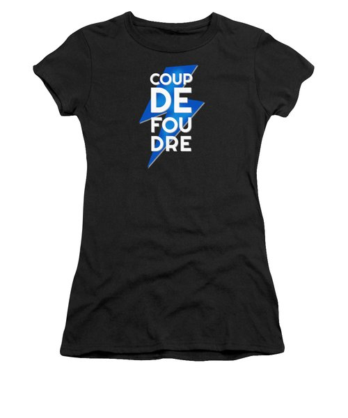 Coup De Foudre Blue Lightning Women's T-Shirt