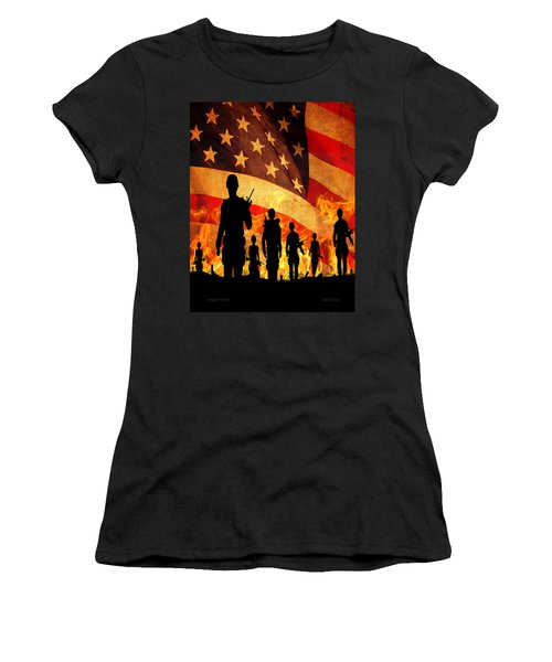 Courage Under Fire Women's T-Shirt