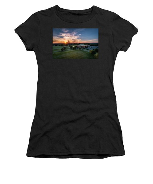 Courthouse Sunset Women's T-Shirt