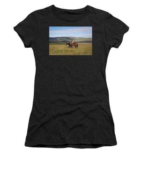 Cowboy Landscapes Women's T-Shirt