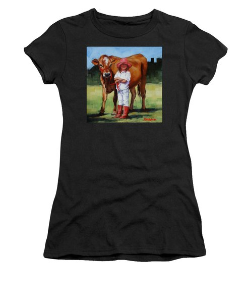 Cowgirl Besties Women's T-Shirt (Athletic Fit)