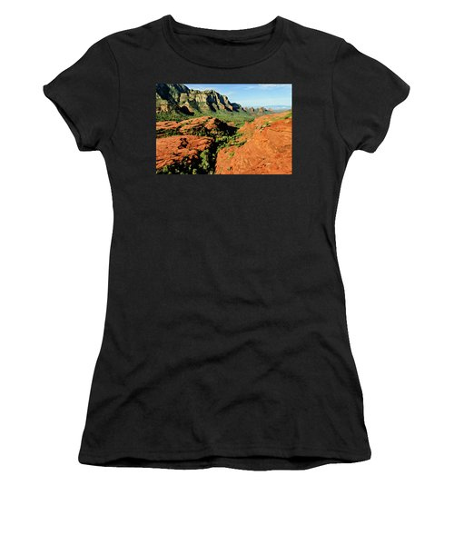 Cowpie 07-114 Women's T-Shirt (Junior Cut) by Scott McAllister