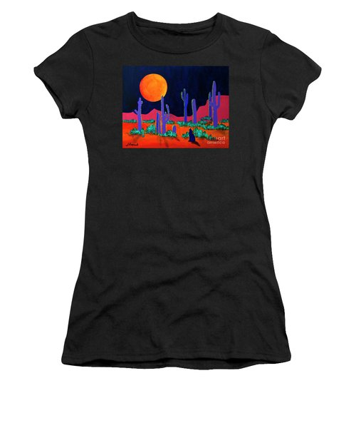 Coyote Moon Women's T-Shirt (Athletic Fit)
