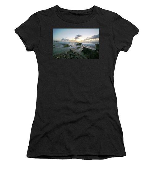 Cozumel Sunrise Women's T-Shirt (Junior Cut) by Robert Och