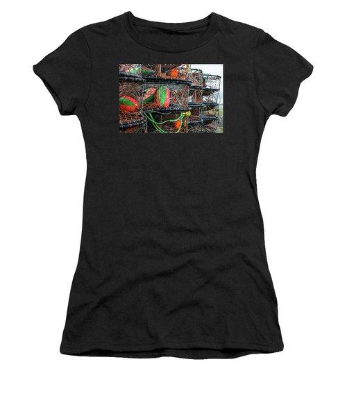 Crab Pots Women's T-Shirt