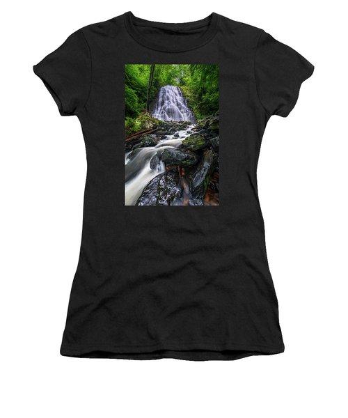 Crabtree Falls North Carolina Women's T-Shirt