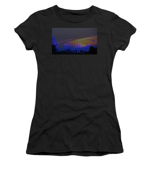 Crack Of Dawn Women's T-Shirt (Athletic Fit)