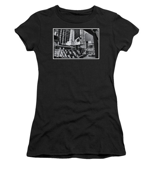 Crane In Manhattan Women's T-Shirt