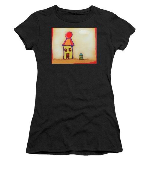 Cranky Clown Cabana And Fire Hydrant Women's T-Shirt