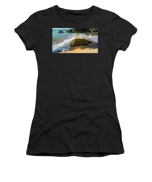 Crashing Over The Rock Women's T-Shirt