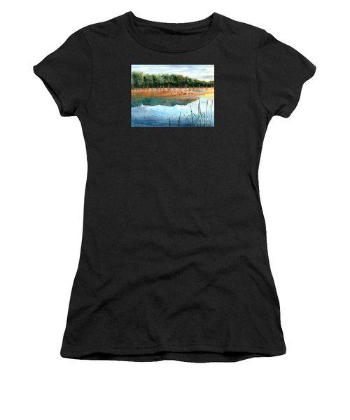 Crawford Lake Morning Women's T-Shirt (Athletic Fit)