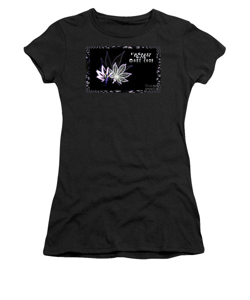 Crazy About Mary Jane Women's T-Shirt (Junior Cut) by Jacqueline Lloyd