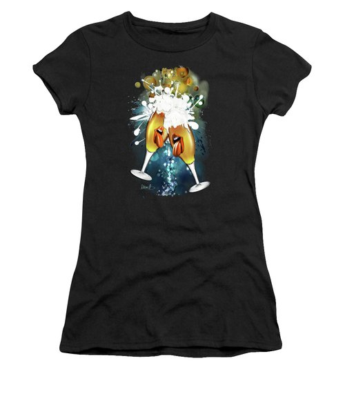 Crazy Beers Women's T-Shirt (Athletic Fit)