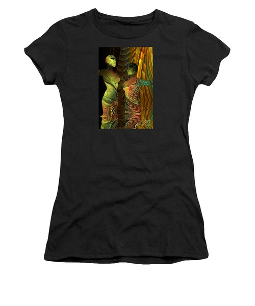Crazy Dance -2- Women's T-Shirt (Athletic Fit)