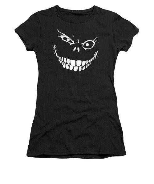 Crazy Monster Grin Women's T-Shirt (Junior Cut) by Nicklas Gustafsson