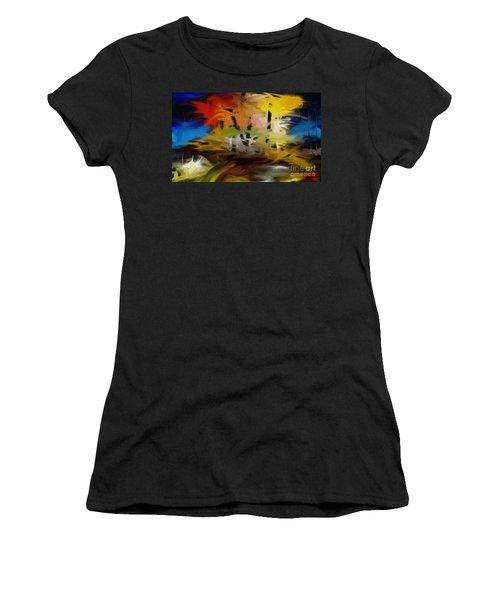 Crazy Nature Women's T-Shirt (Athletic Fit)