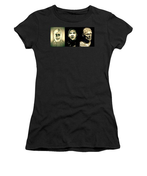 Creature Feature Women's T-Shirt (Junior Cut) by Fred Larucci