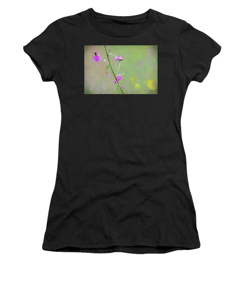 Creeping Thistle Women's T-Shirt (Athletic Fit)