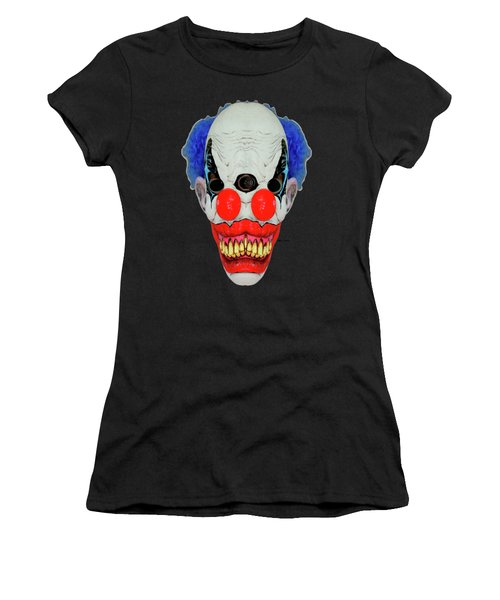 Creepy Clown Women's T-Shirt