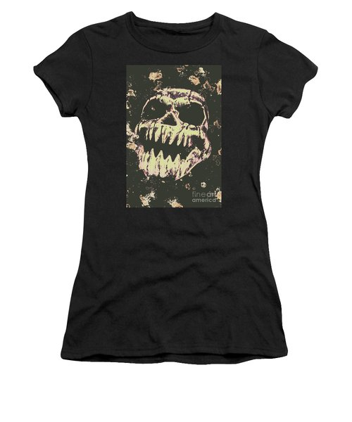 Creepy Face From Nightmares Past Women's T-Shirt