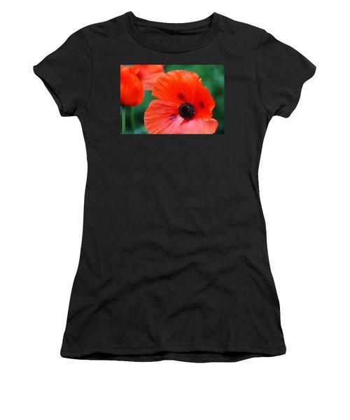 Crepe Paper Petals Women's T-Shirt (Athletic Fit)