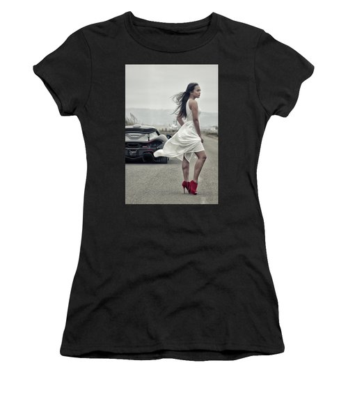 Women's T-Shirt featuring the photograph #cresta #p1 #print by ItzKirb Photography