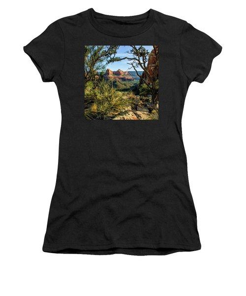 Crimson Cliffs 07-063 Women's T-Shirt