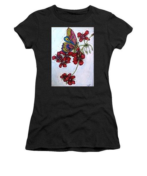 Crimson Fancy Women's T-Shirt