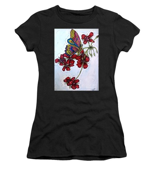 Crimson Fancy Women's T-Shirt