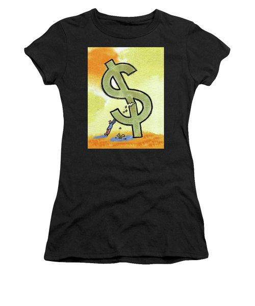 Crisis And Money Women's T-Shirt