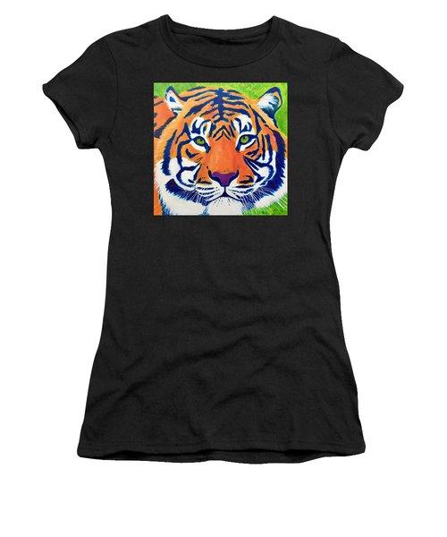 Critically Endangered Sumatran Tiger Women's T-Shirt (Athletic Fit)