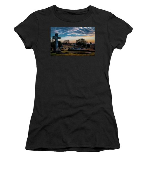 Cross At Sunset Women's T-Shirt
