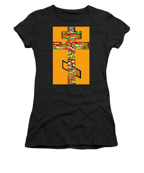 Cross No. 5 Women's T-Shirt (Athletic Fit)