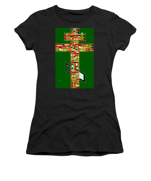 Cross No.2 Women's T-Shirt (Athletic Fit)