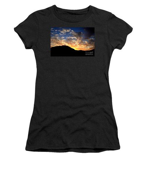 Cross On A Hill Women's T-Shirt