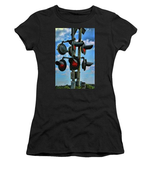 Crossed Signals Women's T-Shirt (Athletic Fit)