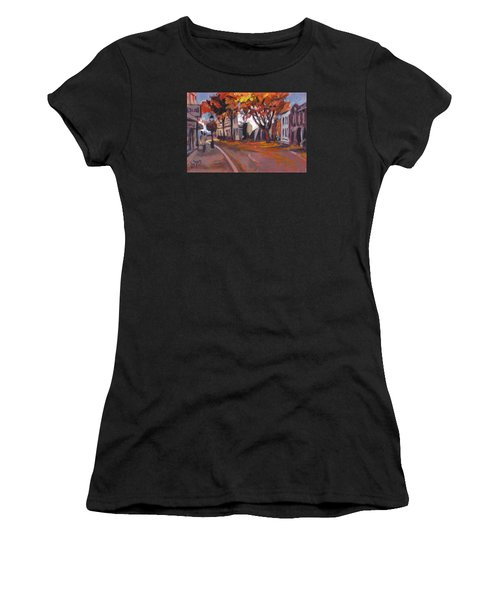 Crossing In Maastricht Women's T-Shirt