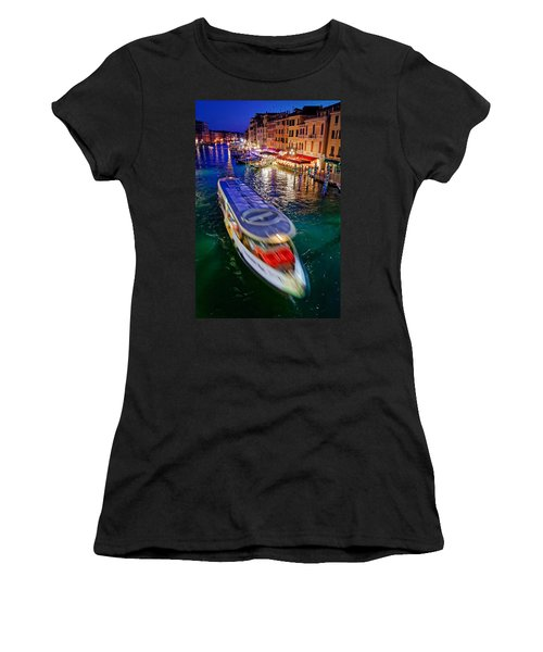Crossing The Grand Canal Women's T-Shirt