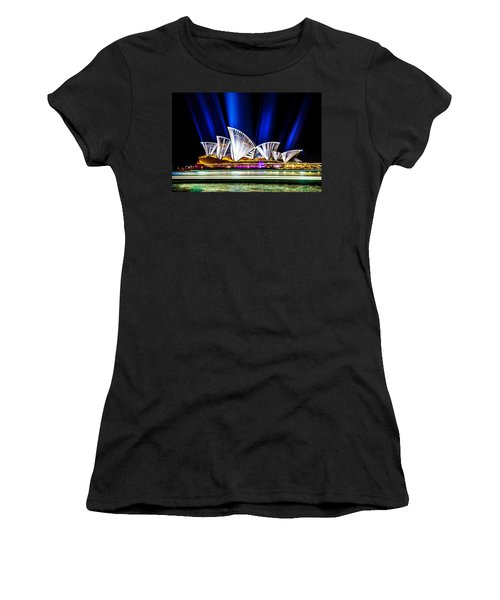 Women's T-Shirt (Athletic Fit) featuring the photograph Crown Jewels by Az Jackson