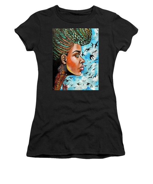 Crowned Royal Women's T-Shirt (Athletic Fit)
