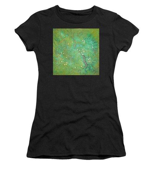 Cruciferous Flower Women's T-Shirt (Athletic Fit)