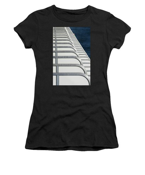 Cruise Ship's Balconies Women's T-Shirt