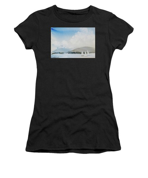 Cruising In Company Along The Tasmania Coast  Women's T-Shirt