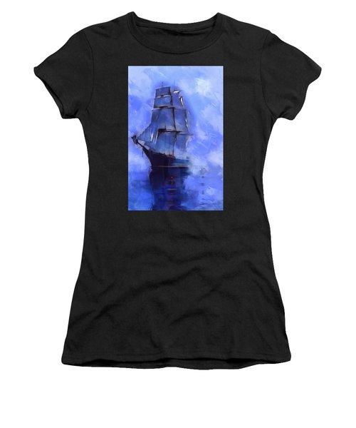Cruising The Open Seas Women's T-Shirt