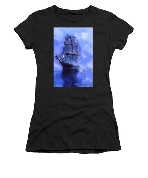 Cruising The Open Seas Women's T-Shirt (Athletic Fit)
