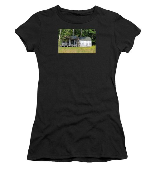 Crumbling Women's T-Shirt (Athletic Fit)